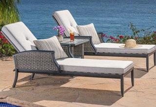 Garden furniture chaise longues TQXXCOR