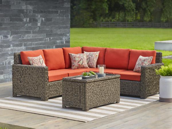 Garden furniture patio conversation set PMEUKUN
