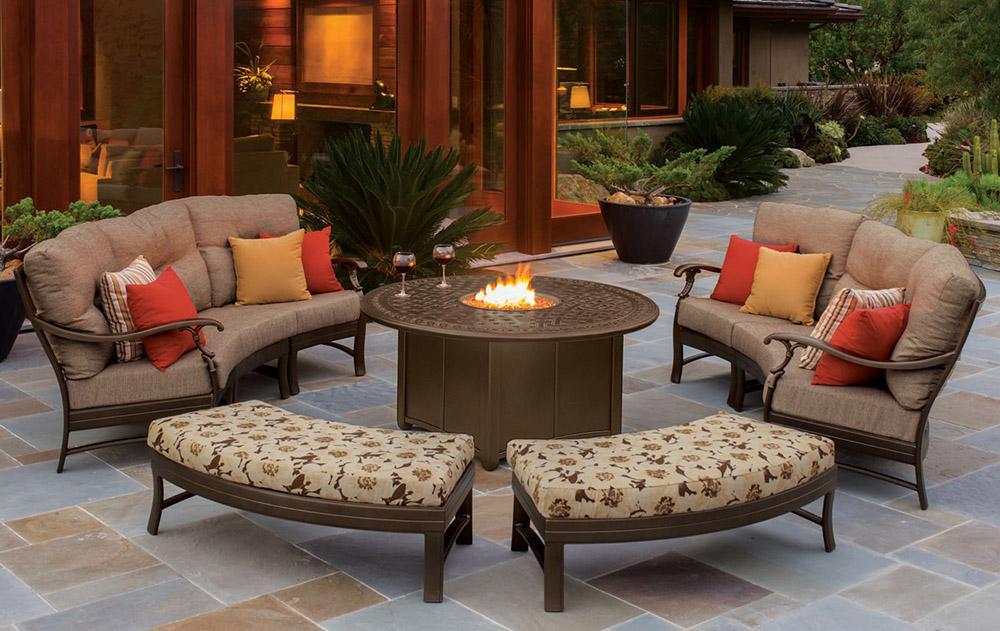HVCCSTI aluminum garden furniture