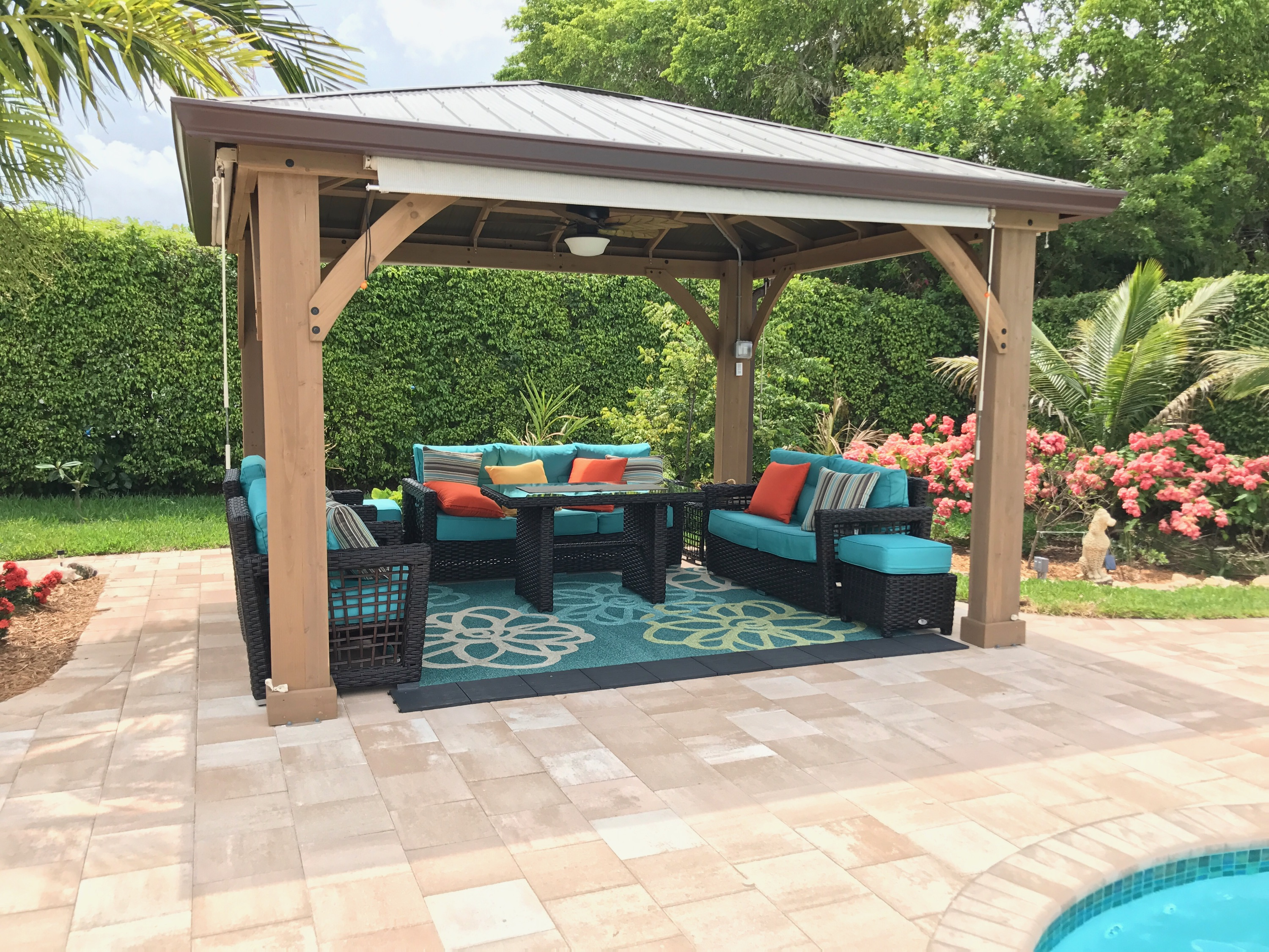 Garden furniture for outdoor patios Trading post for outdoor patios |  Wicker garden furniture for outdoors WOPODDN