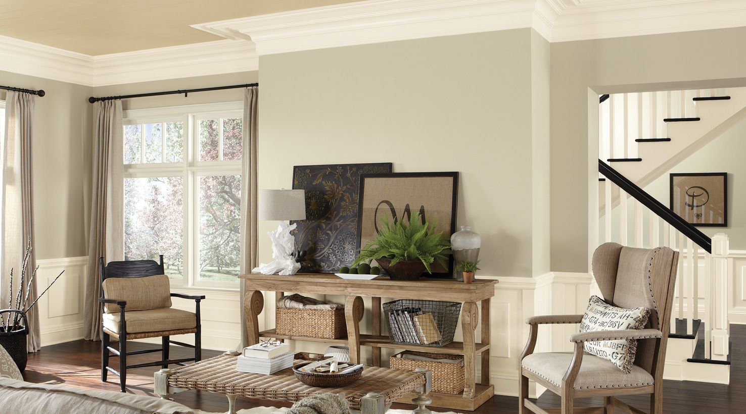 Painting ideas for living room Living room - shades of white ... EBVHGSW