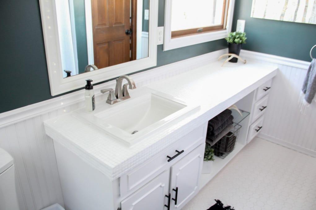 lacquered bathroom countertops IOVQGBQ