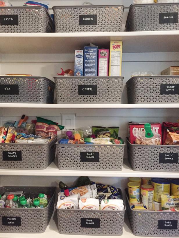 Pantry Organizations 16 Ideas for Small Pantry Organizations |  HGTV RCRHYWT
