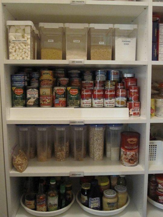 Pantry Organizations Kitchen Organization & Pantry Organization: www.alejandra.tv #organizing_tips #home_organization # JIXMYFP
