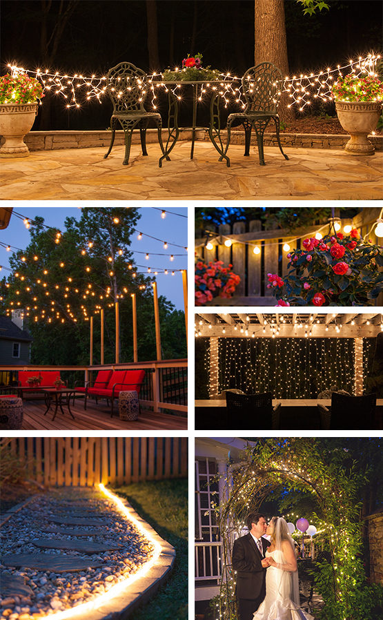 Patio lighting ideas and string lights designs to transform your OMNKVQS outdoors