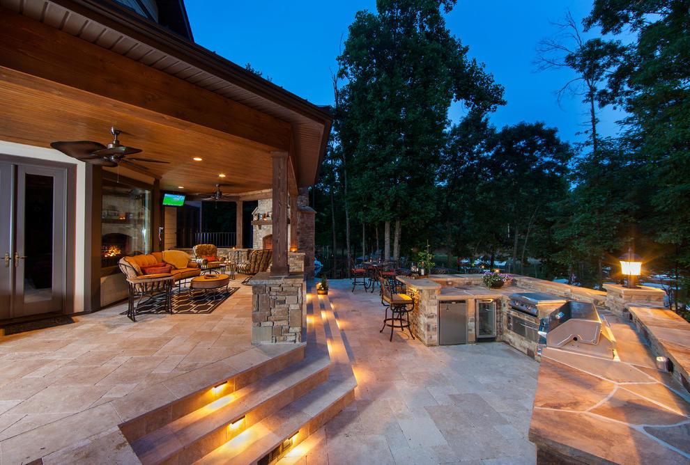 Terrace lighting image: one kind design IOHLEVB