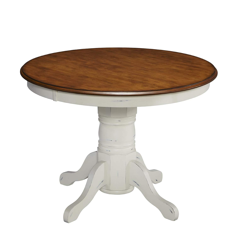 column table amazon.com - living styles 5518-30 the french landscape column table, oak PSXLISU