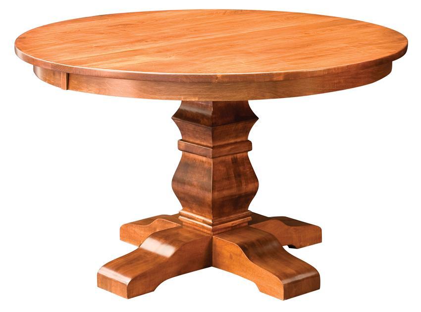 pedestal tables amish bradbury single pedestal table WBOSWLQ