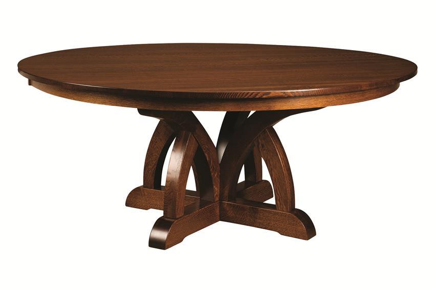 pillar tables amish brooklyn pillar dining table AEOVZRK