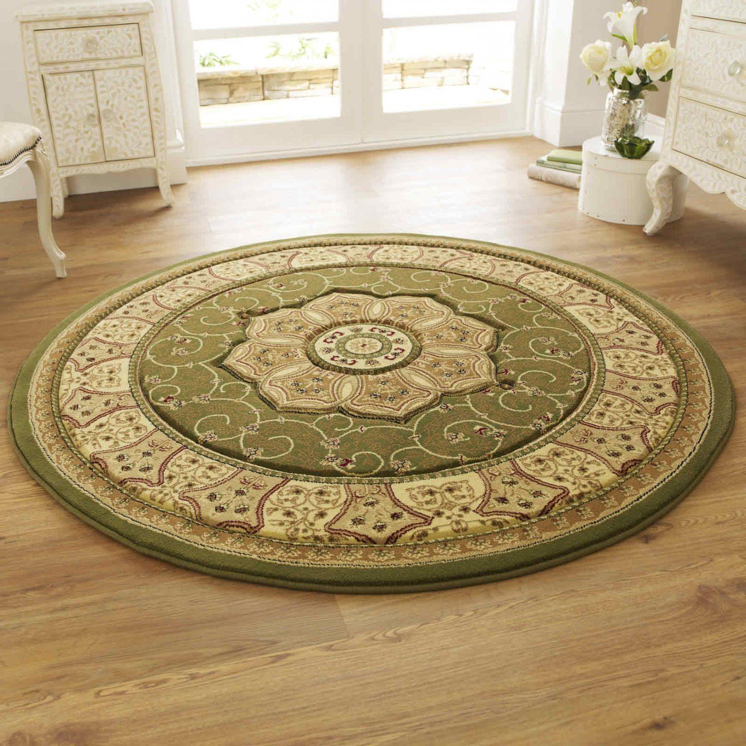 Photo 1 of 5 green round round braided carpets (extraordinary round carpets PXRZDCC
