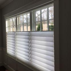Photo of custom window treatments from Barrows - Newton, Ma, United States.  JRPMKUB
