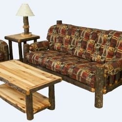 Photo of rustic wooden furniture - Alamosa, Co, United States.  5 pieces WITWUUB