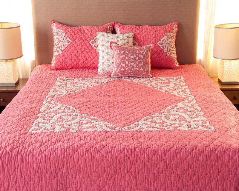 pink bed linen MTWMXYP