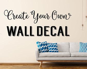 Popular items for custom wall stickers PETIZTI