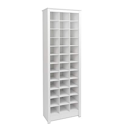 prepac wusr-0009-1 cupboard, 36 pairs of shoe racks, white LOKGRWU