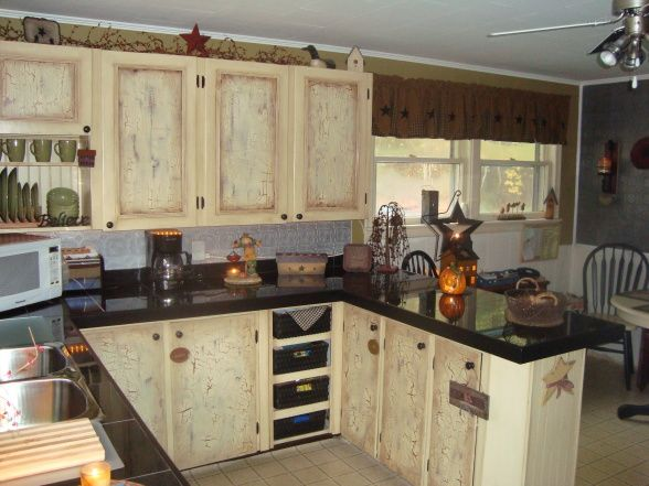 COUNTRY KITCHEN MAKEOVER ON A BUDGET    Country kitchen, kitchen.