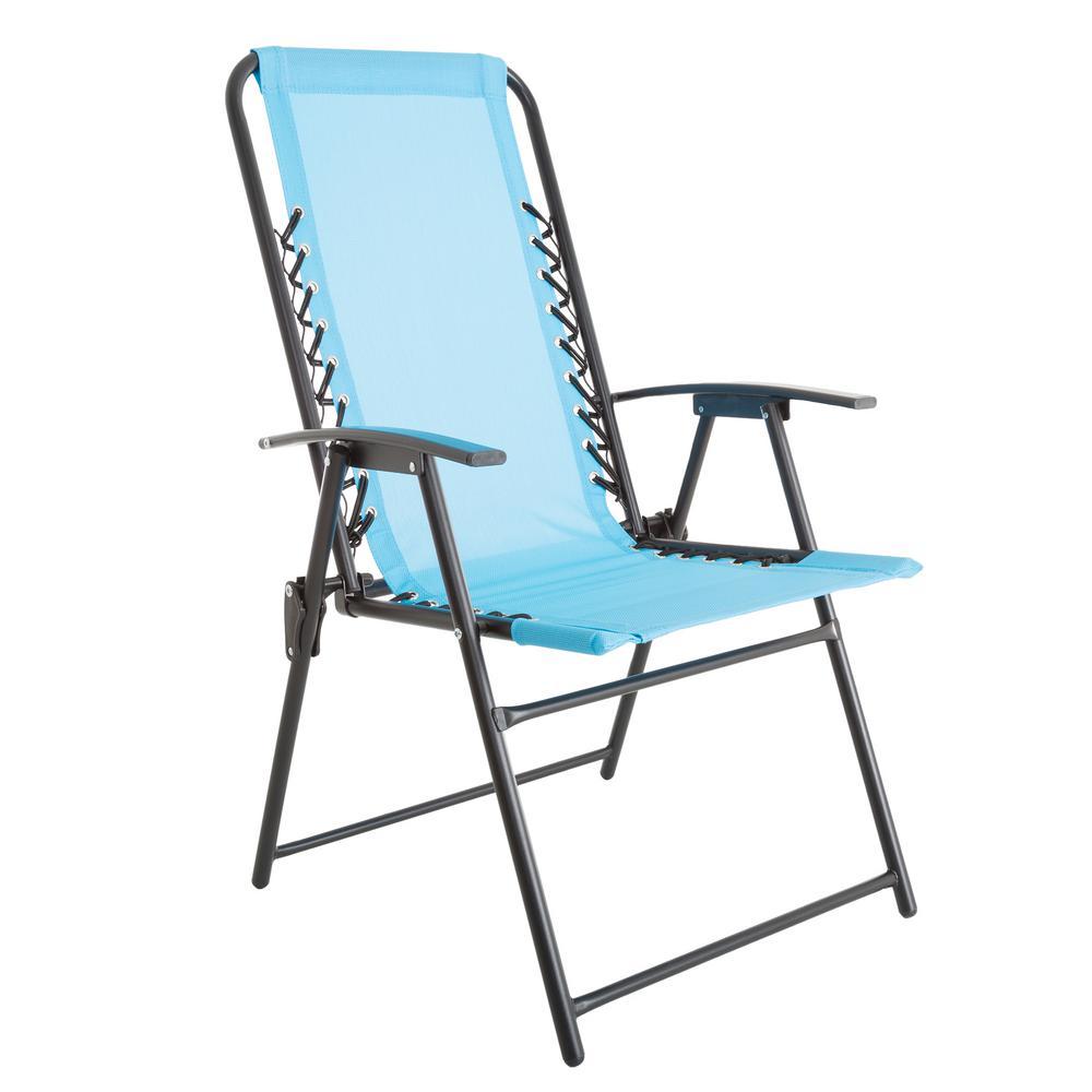 Pure garden patio chair in blue IXRSSEP