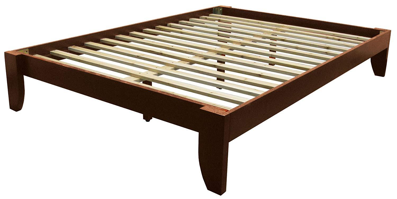 Queen size bed frame amazon.com: Copenhagen solid wood platform bed frame, Queen, Black: Kitchen & RXRZECO