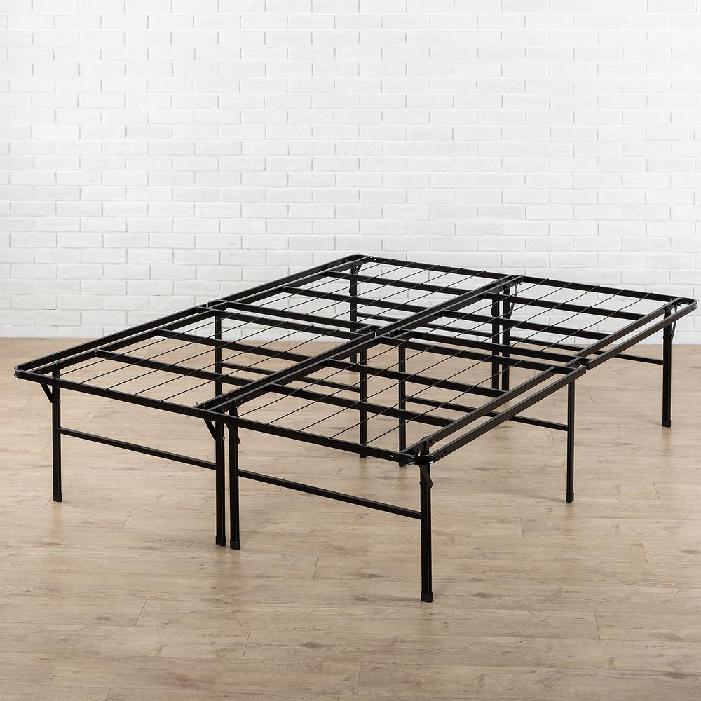 Queen bed frame zinus High Profile Smartbase Queen metal bed frame hd-sb13-18q - the home KYEGYPN
