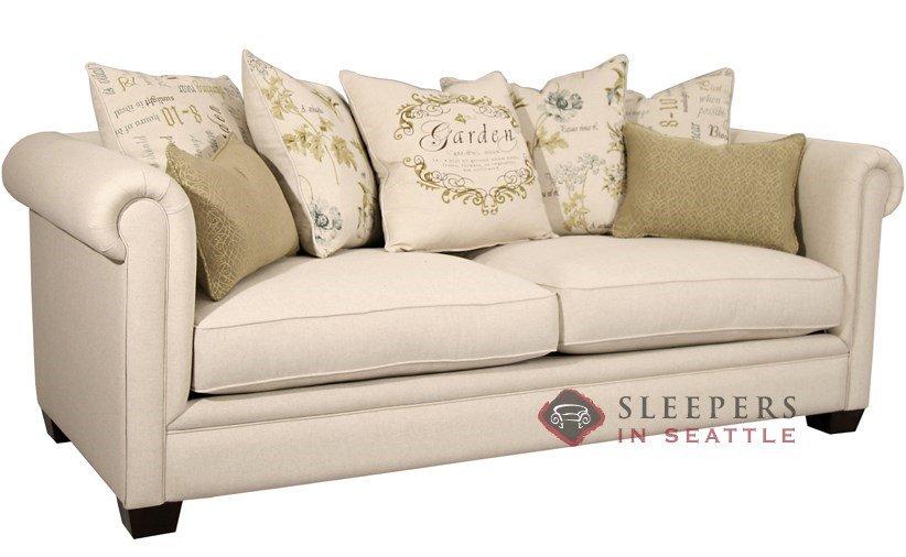 Queen sofa bed Fairmont Designs Chardonnay Sleeper made of garden linen (Queen) BSKAQQZ