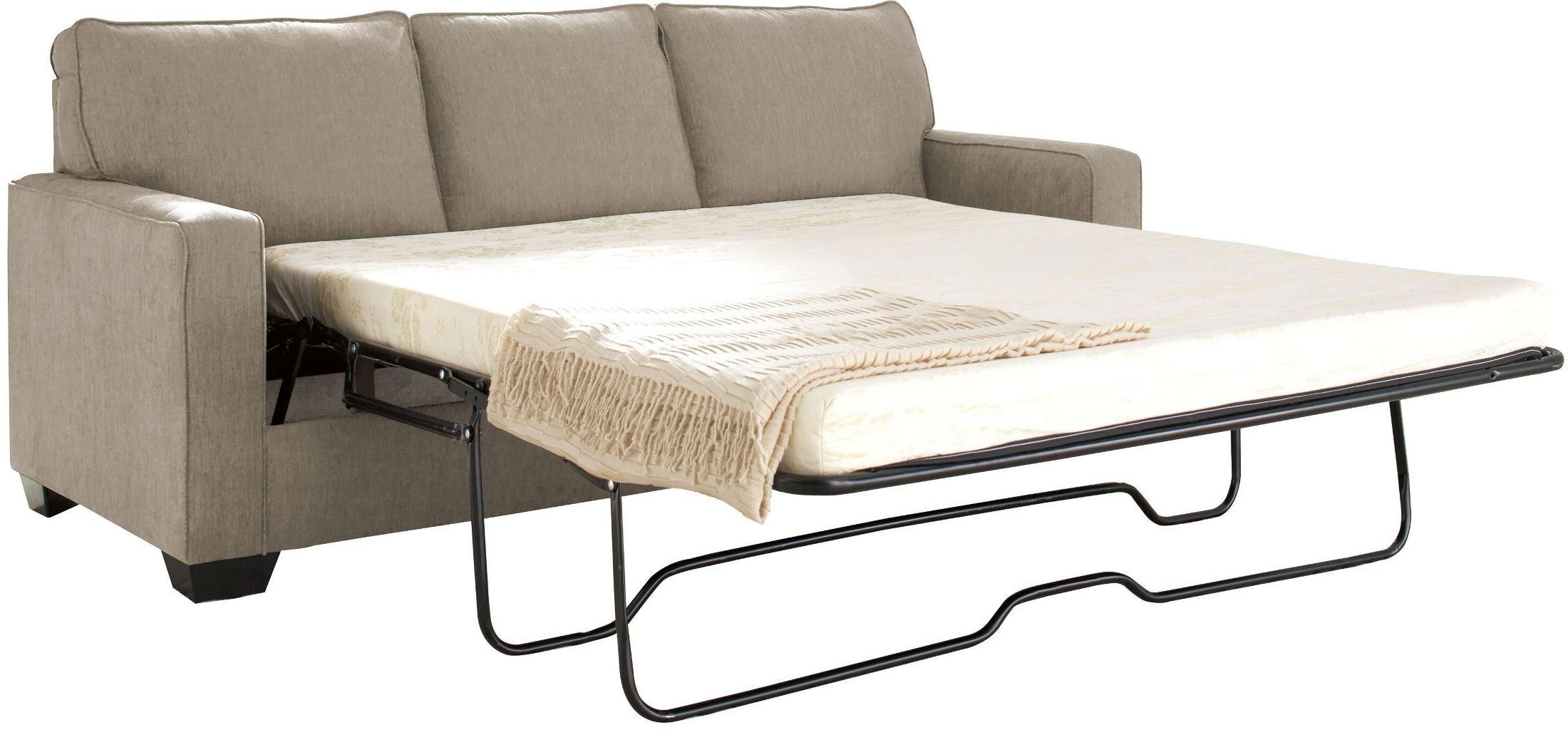 Queen Sofa Bed Zeb Quartz Queen Sofa Bed by Ashley |  Coleman Furniture DEQUSLR