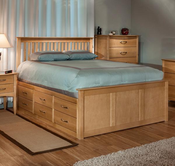 Queen-size bed with storage space |  cardiu0027s furniture & mattresses ZBPGFWU