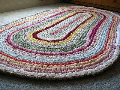Rag rugs how to make a rag rug SQGDVLD