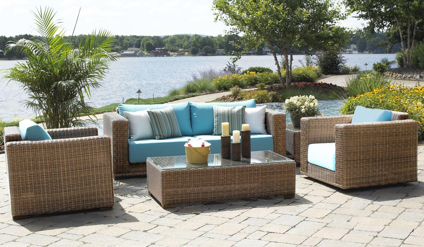 Rattan Garden Furniture Wicker Garden Furniture - Santa Barbara HFQWACQ
