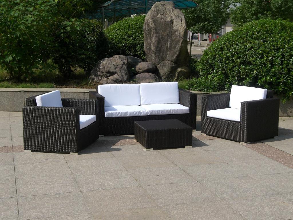 Rattan garden furniture sofa YNLNTIM