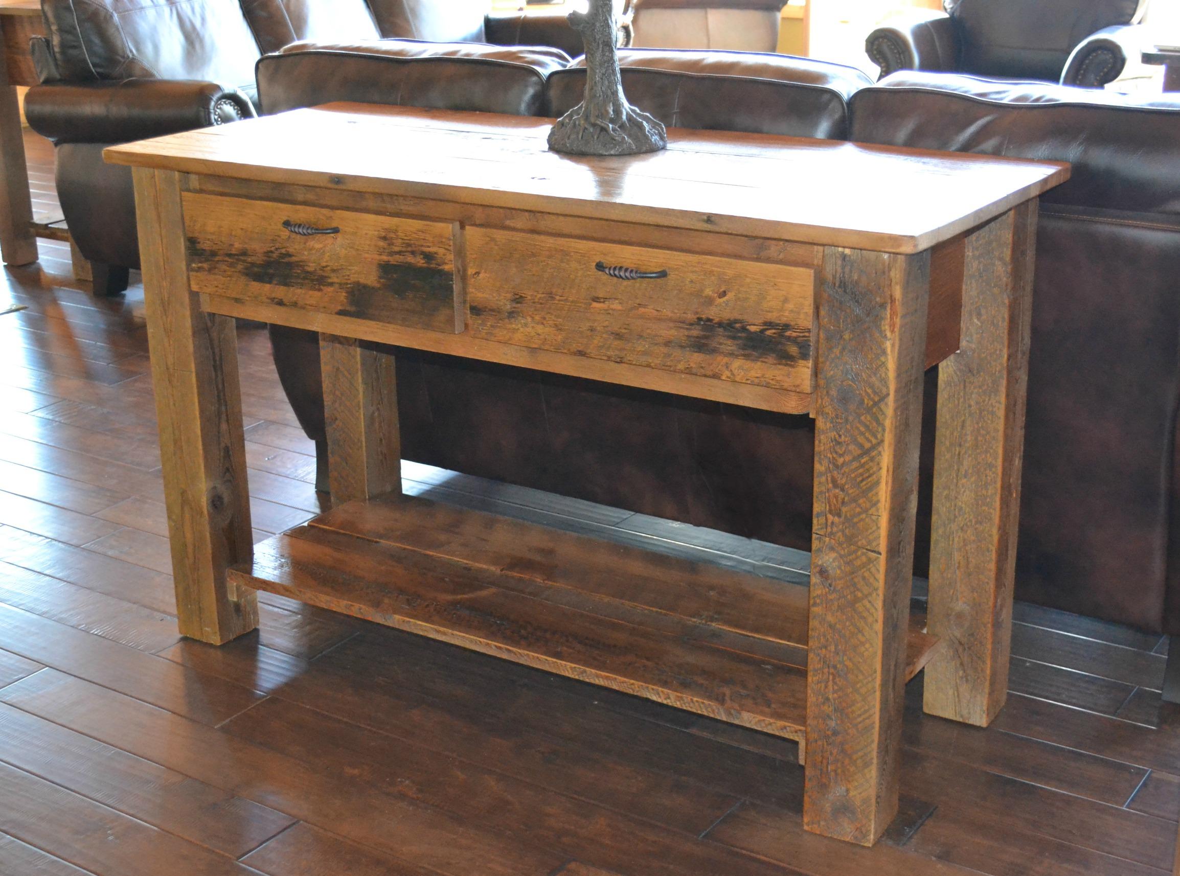 Old furniture Teton 2-drawer coffee table HIPRETP