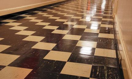 Rethinking linoleum floors OADYBST