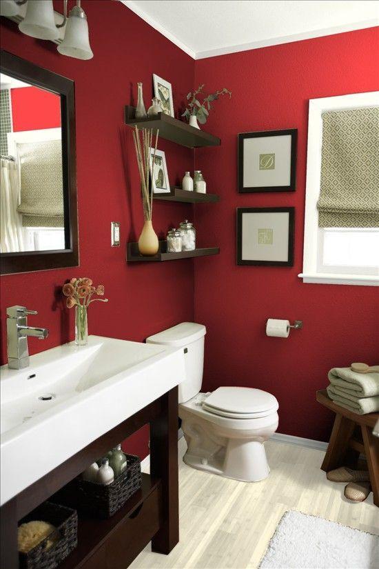 Red Bathroom Ideas