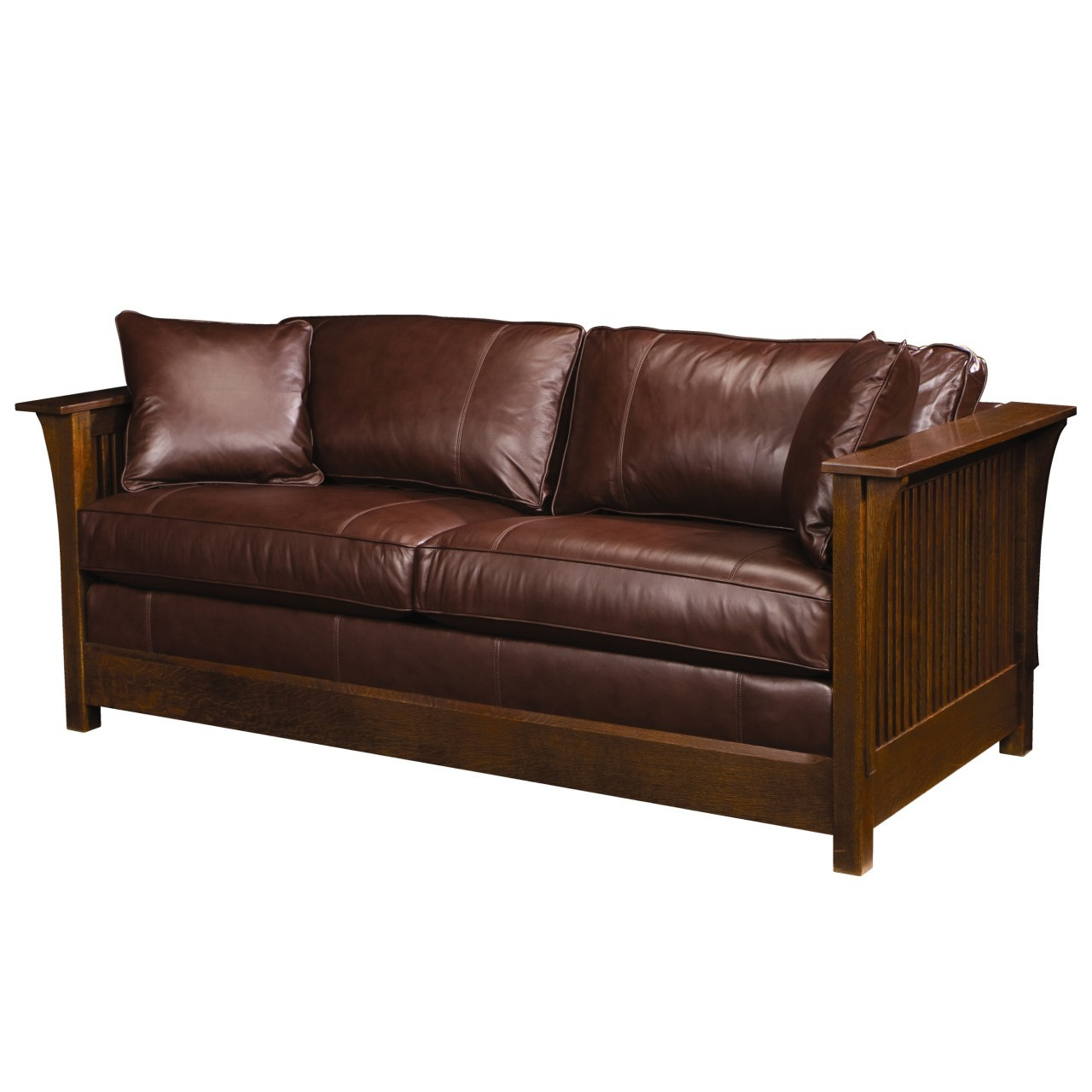 red velvet color American leather sofa bed queen size DSVQNND
