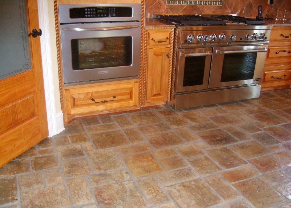Notable ideas for kitchen tile floors Perfect ideas for designing small kitchens with XISAFOE