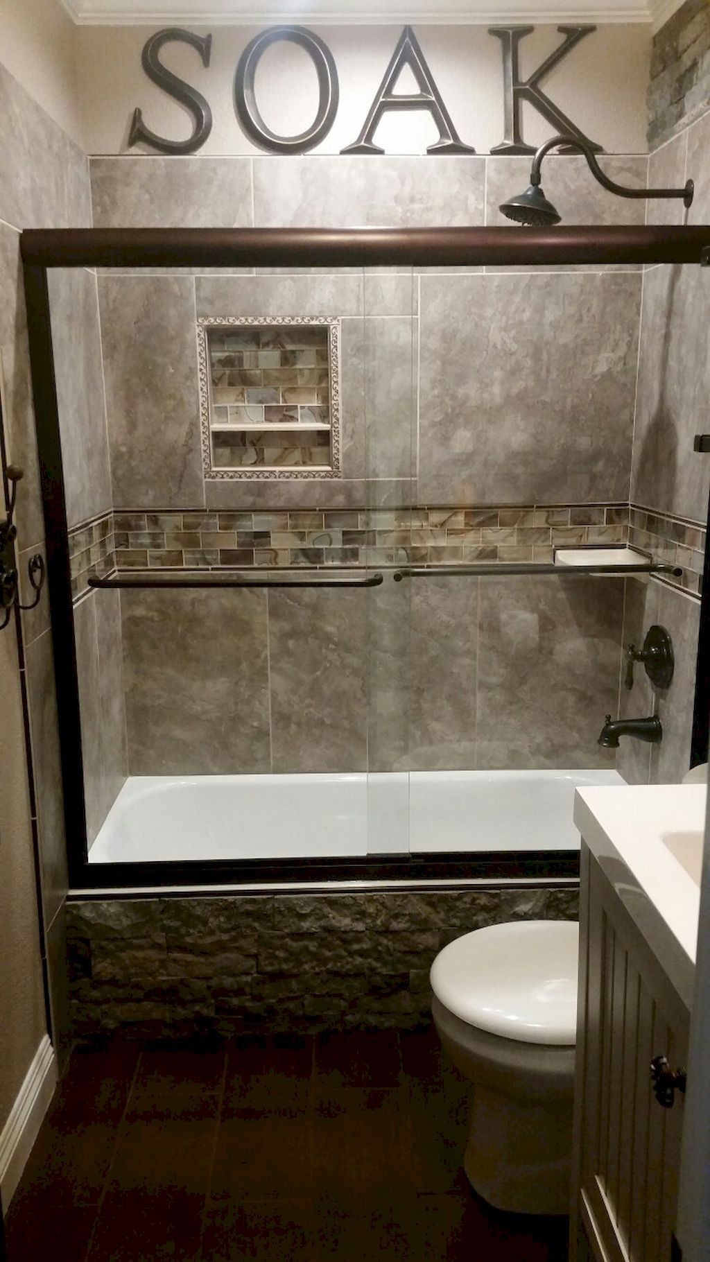 Bathroom Remodel Gorgeous 55 Cool Little Master Bathroom Remodeling Ideas https://homeastern.com/2017/06/23/55-cool-small-master-bathroom-remodel-ideas/ GFIDNCG