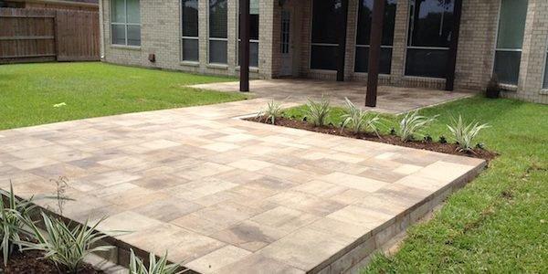 Concrete patio slabs SNGMBNY