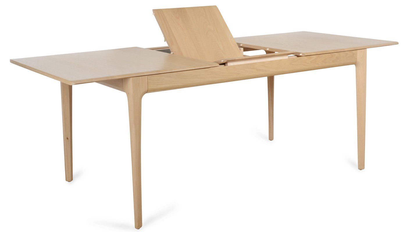 romana extendable dining table - butterfly mechanism FNVKWLX