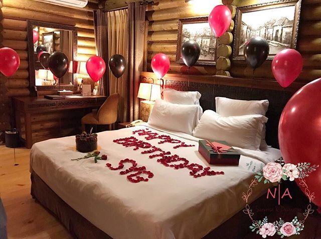 Room decoration for a birthday surprise ❤ #surpriseplannermelaka #surpriseplannermuar #surpriseplannerledang #surpriseplannerjohor #EMFMGQD
