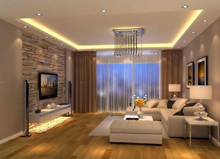 interior design ideas modern living room brown design u2026 |  TV room u2026 RBNMKZV