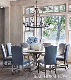 round dining room tables traditional home design | rising star  2016 hpmkt style spotter |  RIAHPCG