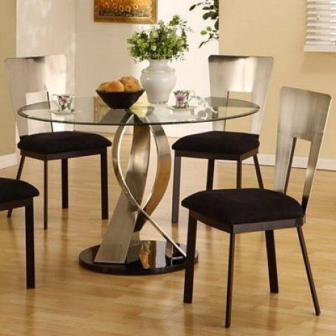 round glass kitchen table sets 2 XBBSDZB