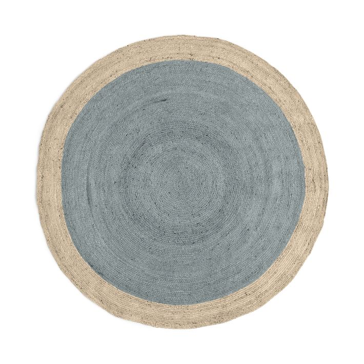 round jute carpet edged round jute carpet to order (4 weeks delivery time)    West Elm JYWCNRL