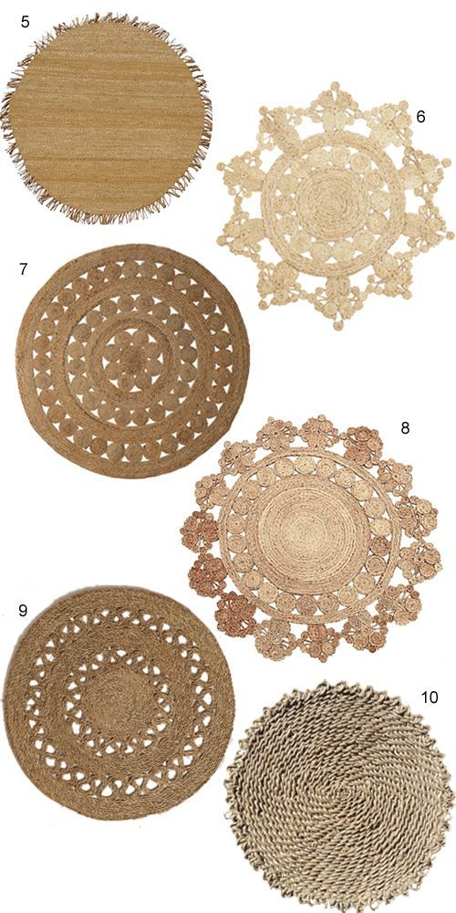 round jute rug Round jute rugs have a lot of feel for adding an NXFQSAD