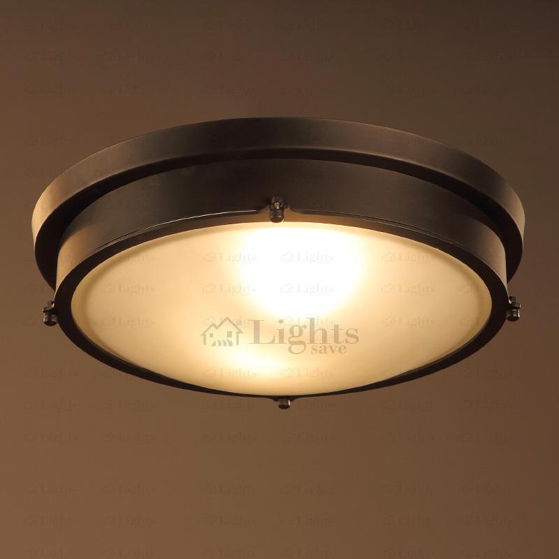 rustic 2-lamp hardware industrial ceiling lights UZGRCSL