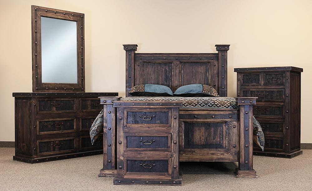 rustic bedroom furniture el paso rustic bedroom set BTEYZRY