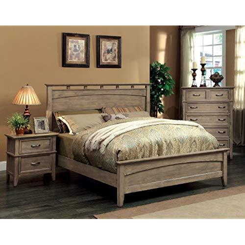 Rustic bedroom furniture America Vine II furniture Rustic style solid wood bed, queen, reclaimed EQPCZGQ