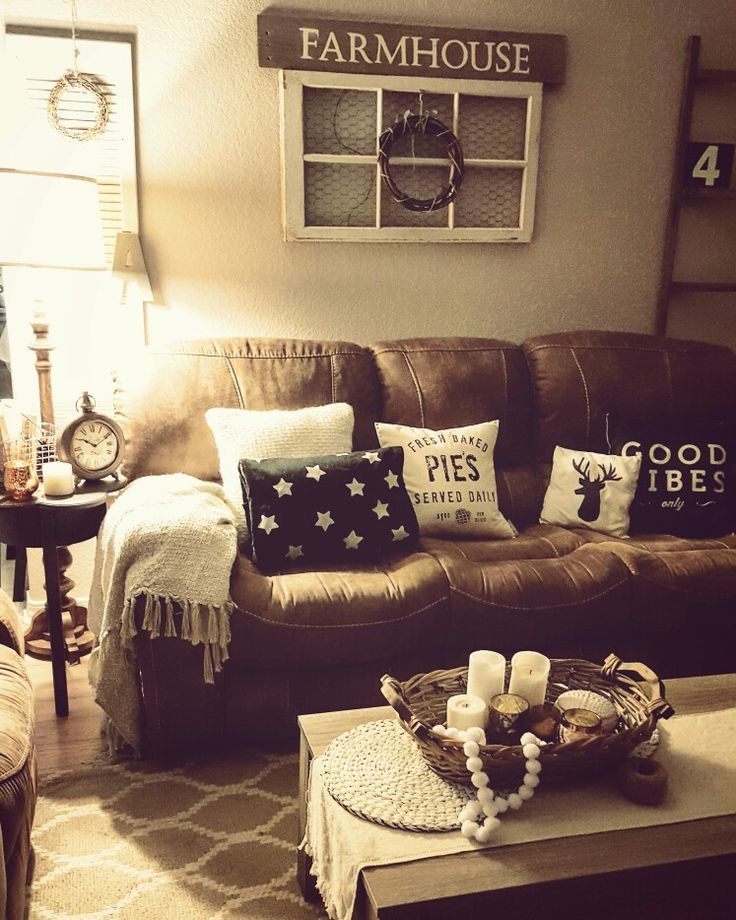 Rustic Brown Living Room 20+ Rustic Wall Decor Ideas To Help You Add Rustic Beauty To PLBEJPP