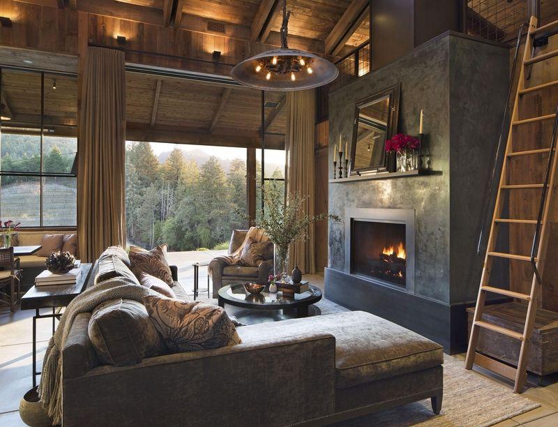 rustic brown living room 24 best rustic living room ideas - rustic decor for living room MUPQKEZ