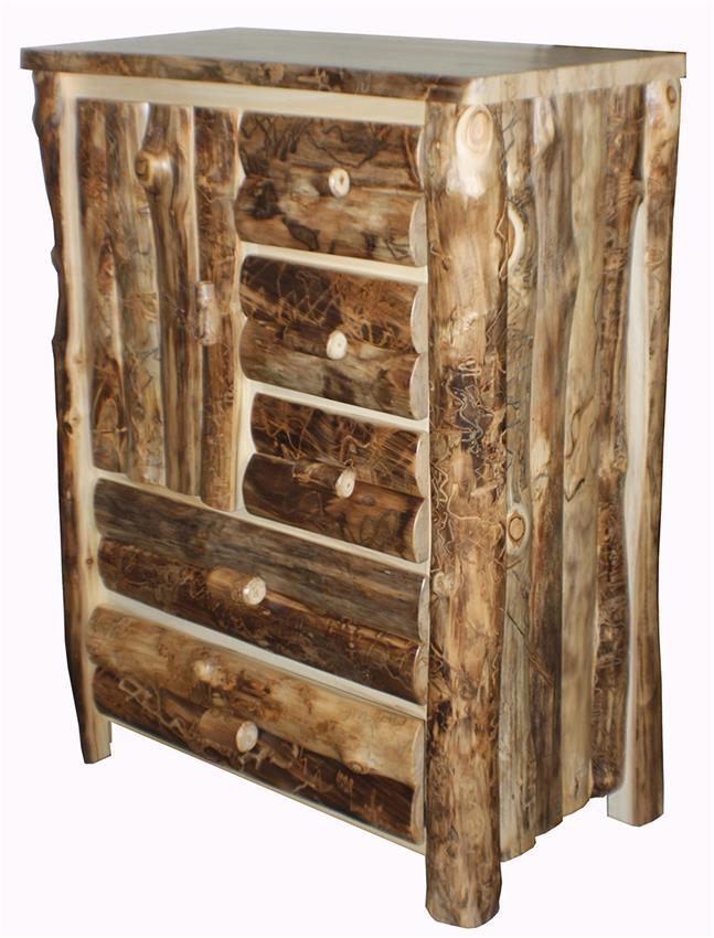 rustic log furniture best Amish log furniture Amish log furniture rustic aspen cabinet WKJHREL