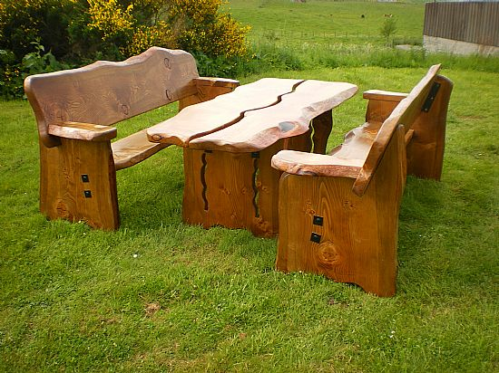 rustic outdoor benches stylish wooden garden furniture farmhouse all over 29 OEGZPZT